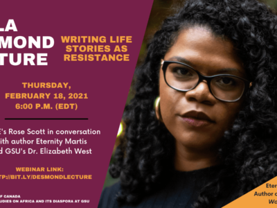 This discussion will feature a conversation with author and journalist, Eternity Martis. Her debut memoir, They Said This Would Be Fun, is a Toronto Star, Globe and Mail and Vancouver Sun bestseller.
